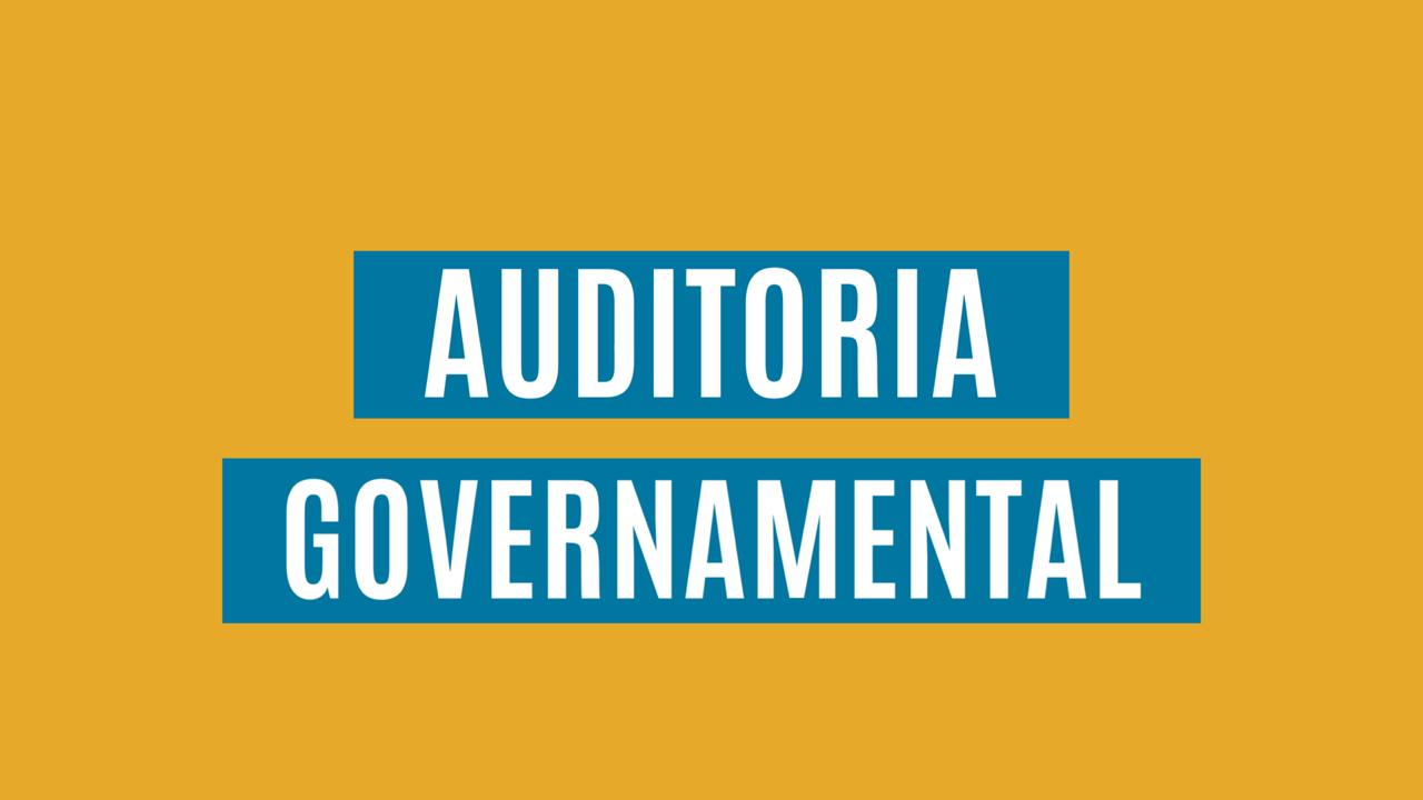 Curso Auditoria Governamental